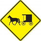 - Crossing Sign: Horse-Drawn Vehicle