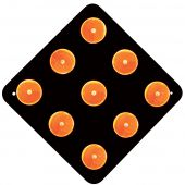 - Reflector Object Marker (Orange on Black)