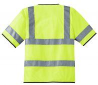 - ANSI Short-Sleeve Yellow Safety Shirt