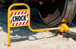 - Rail Car Chocks