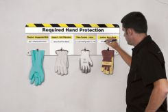 - The Glove Board™ 5S/Lean Hand Protection Board