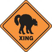 - Halloween Signs: (Cat) Xing