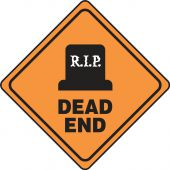 - Halloween Signs: R.I.P. Dead End