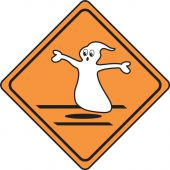 - Halloween Signs: (Ghost)