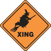 - Halloween Signs: (Witch) Xing