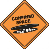 - Halloween Signs: Confined Space