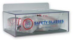 - PPE Dispenser: Safety Glasses Dispenser (Hinged Lid)