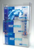 - Triple Box Glove Dispenser w/ Standard Label: