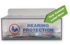 - Hearing Protection Dispenser w/ Custom Label