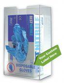 - Single Box Glove Dispenser w/ Custom Label