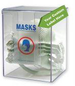 - Respirator Mask Dispenser w/ Custom Label