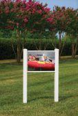 - Decorative PVC Sign Frames: Classic