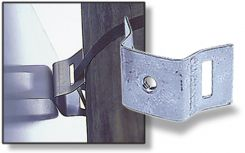 - Strap-On Sign Mounting Brackets
