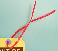 - Twist Ties: 12-in. (Red)