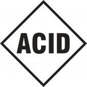 - NFPA Individual Hazard Panel: Acid