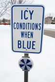 - Icy Conditions Indicator Kit