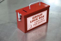 - Portable Group Lockout Boxes: Lock Box
