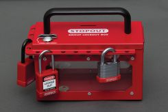 - STOPOUT® Pry-Resistant Lock Box