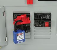 - Single Pole Style Circuit Breaker Lockout