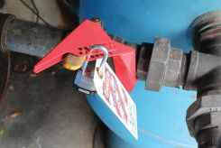 - Ball Valve Lockout