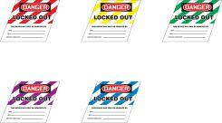 - Ball Valve Lockout Label