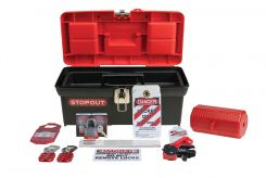 - STOPOUT® Lockout Kit: Standard Lockout Kit