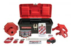 - STOPOUT® Lockout Kit: Standard Plus Lockout Kit
