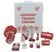 - Lockout Center Kit: Lockout/Tagout Cabinet Center