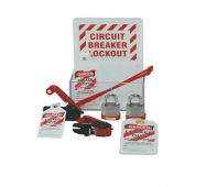 - Mini Lockout Center Board: Circuit Breaker Lockout