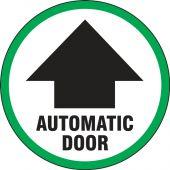 - Double-Sided Door Stickers: Automatic Door