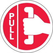 - Double-Sided Door Stickers: Pull - Push