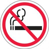 - Double-Sided Door Stickers: No Smoking