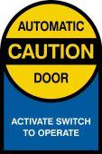 - Custom Double-Sided Door Stickers