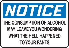 - Funny Labels: Alcohol, What Happened To Your Pants?
