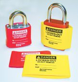 - Padlock Cover Labels