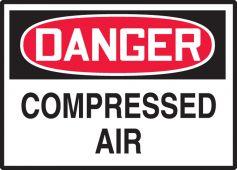 - OSHA Danger Safety Label: Compressed Air