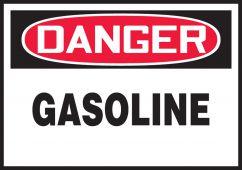 - OSHA Danger Safety Label: Gasoline