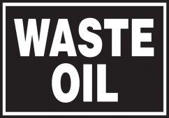 - Safety Label: Waste Oil