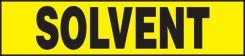 - Safety Label: Solvent