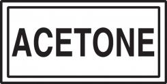 - Safety Label: Acetone