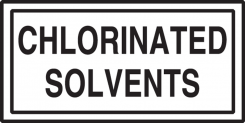 - Safety Label: Chlorinated Solvents