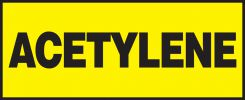 - Safety Label: Acetylene
