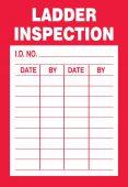 - Safety Label: Ladder Inspection