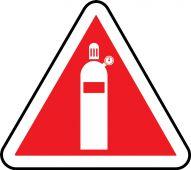 - CSA Pictogram Label - Gas Cylinder