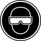 - CSA Pictogram Label: Eye Protection (Graphic)