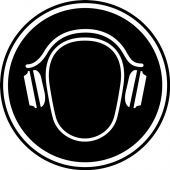 - CSA Pictogram Label - Hearing Protection