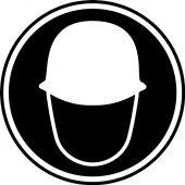 - CSA Pictogram Label - Head Protection