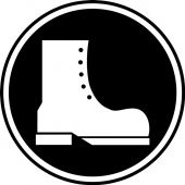 - CSA Pictogram Label: Foot Protection