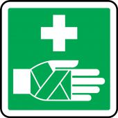 - CSA Symbol Pictogram Label - First Aid Symbol