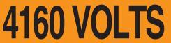 - Voltage Marker 4160 Volts